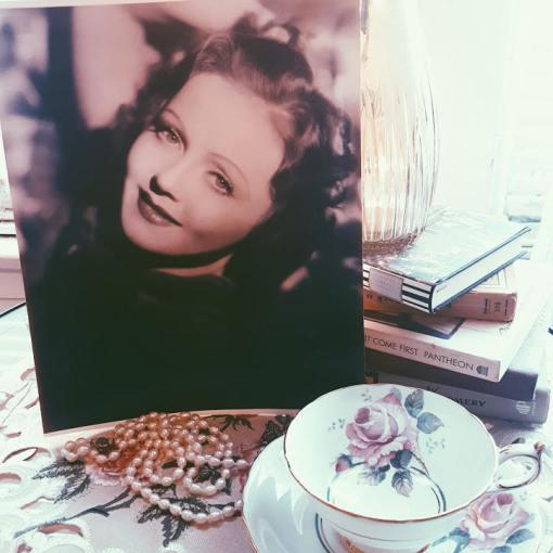 Marjorie Vintage Headshot, $4