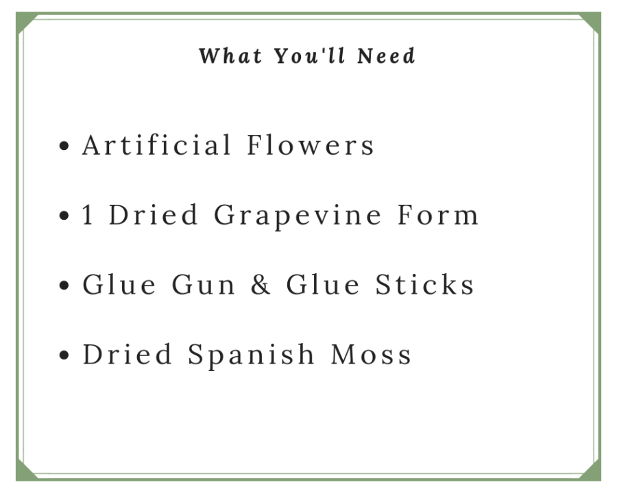Flower Wreath Supplies