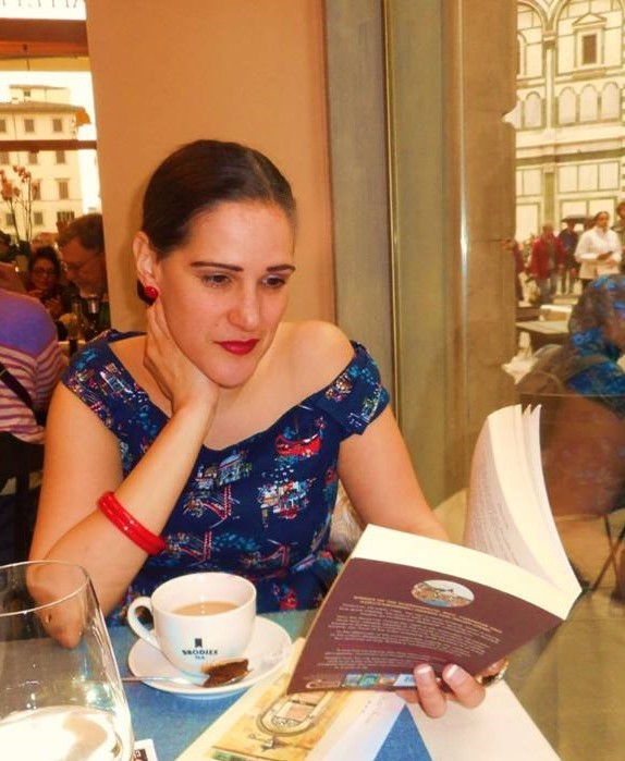 Reading 'Death in Florence'