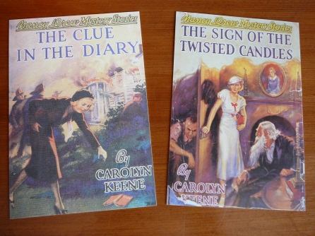 The Clue in the Diary (1932 Russell Tandy), The Sign of the Twisted Candles (1933 Tandy)