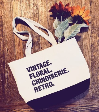 Personalized tote from The Shop Forward