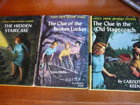 The Hidden Staircase (1965 Rudy Nappi), The Clue of the Broken Locket (1965 Nappi), The Clue in the Stagecoach (1960 Nappi)