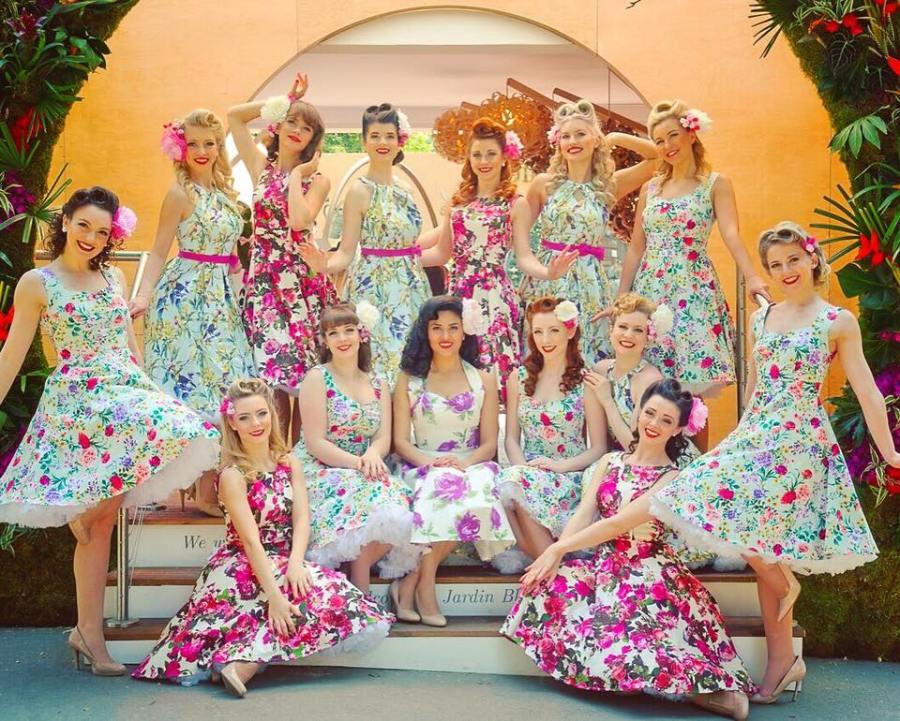 The Satin Dollz Royal Chelsea Flower Show - Stuart Runham Photograher
